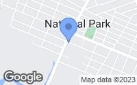 Map of National Park, NJ