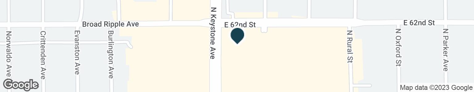 Google Map of6191 N KEYSTONE AVE