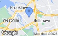 Map of Bellmawr, NJ