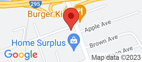 Branch Location Map - TD Bank, Bellmawr Branch, 180 North Black Horse Pike, Bellmawr NJ