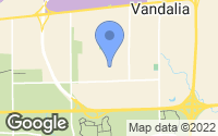 Map of Vandalia, OH