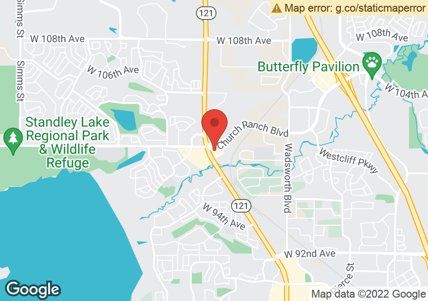 Google Map of 9970 WADSWORTH PKWY