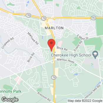 Map of Hair Cuttery at 515 Route 73 S Unit 114, Marlton, NJ 08053