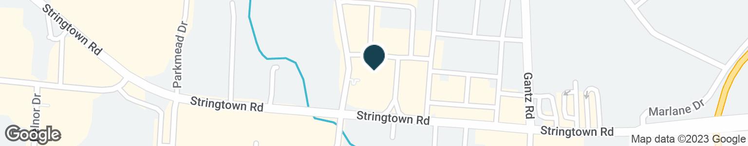 Google Map of2110 STRINGTOWN RD