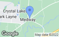 Map of Medway, OH