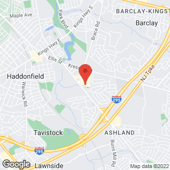 Map of Hair Cuttery at 1479 Brace Road, Cherry Hill, NJ 08034