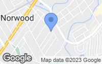 Map of Norwood, PA