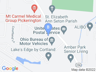 Map of Allpets at Pickerington Dog Boarding options in Pickerington | Boarding