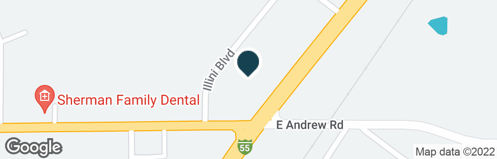 Google Map of106 ILLINI BLVD