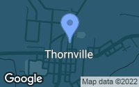 Map of Thornville, OH
