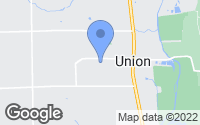 Map of Union, OH
