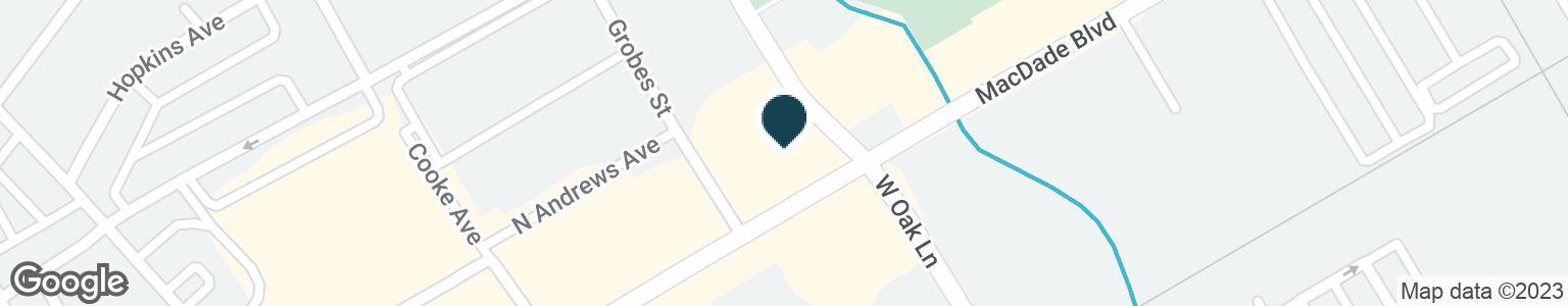 Google Map of150 N MACDADE BLVD