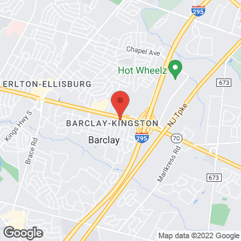 Map of BAYADA Home Health at 1415 Route 70, Cherry Hill, NJ 08034