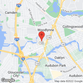 Map of Citi Trends at 2750 Mt Ephraim Ave, Camden, NJ 08104