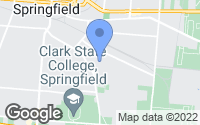 Map of Springfield, OH