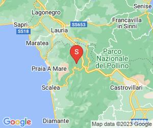 Karte für Grotta del Romito