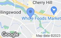 Map of Haddonfield, NJ