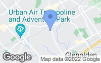 Map of Clifton Heights, PA