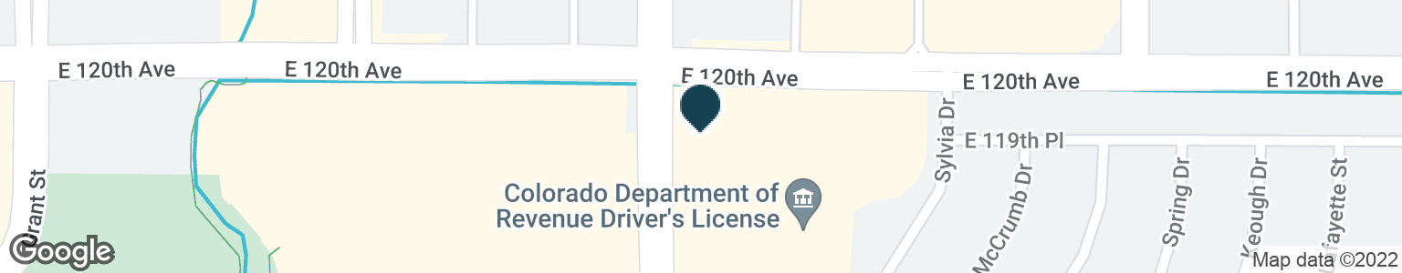 Google Map of750 E 120TH AVE