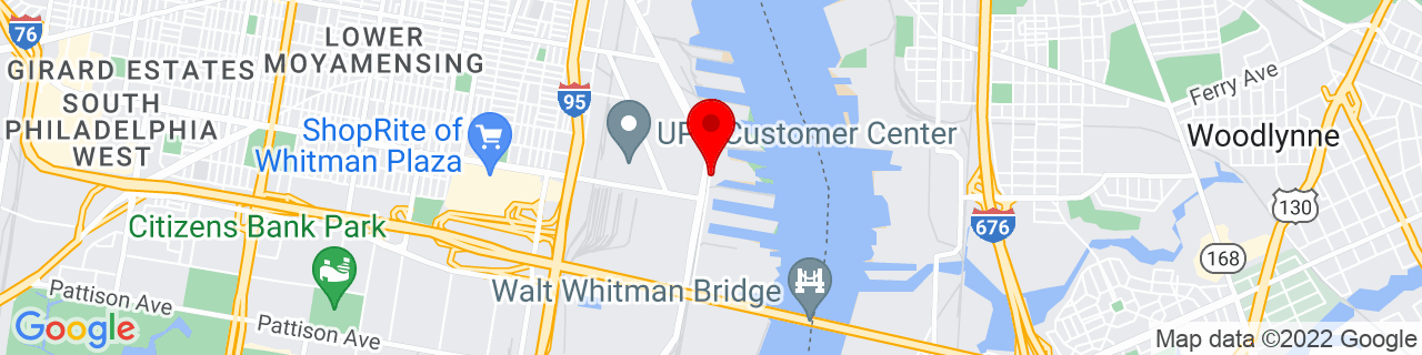 Google Map of 39.9138618, -75.13738