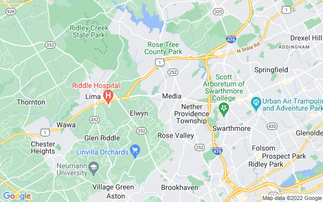 Media on the map