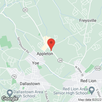 Map of Verizon Authorized Retailer, TCC at 3212 Cape Horn Rd, Red Lion, PA 17356