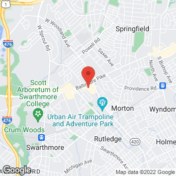 Map of Bed Bath & Beyond at 857 Baltimore Pike, Springfield, PA 19064