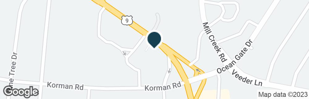 Google Map of400 ATLANTIC CITY BLVD