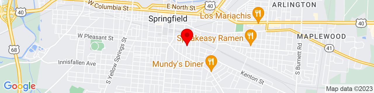 Google Map of 39.9179379, -83.8031802