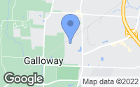 Map of Galloway, OH