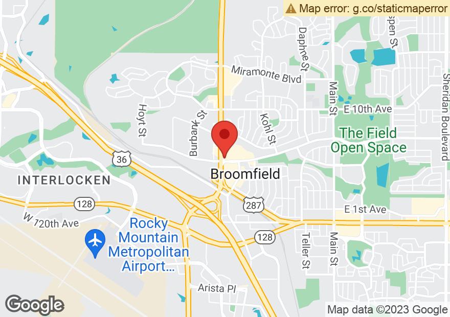 Google Map of 570 US HIGHWAY 287