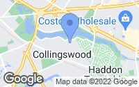 Map of Collingswood, NJ
