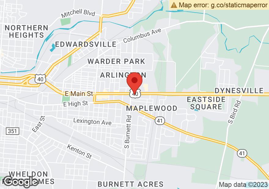 Google Map of 2609 E MAIN ST