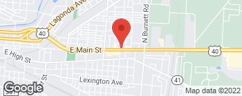 Map of 2200 E Main St in Springfield