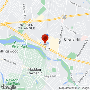 Map of Staples® Print & Marketing Services at 2230 West Marlton Pike, Cherry Hill, NJ 08002