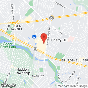 Map of Liberty Travel at 951 Haddonfield Rd, Cherry Hill, NJ 08002