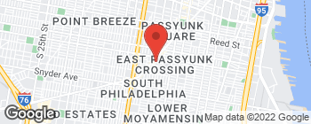 Map of 1141 Pierce St in Philadelphia