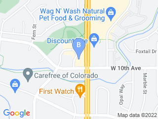 Map of Friendly Visits LLC Dog Boarding options in Broomfield | Boarding