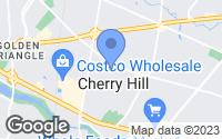 Map of Cherry Hill, NJ