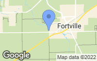 Map of Fortville, IN
