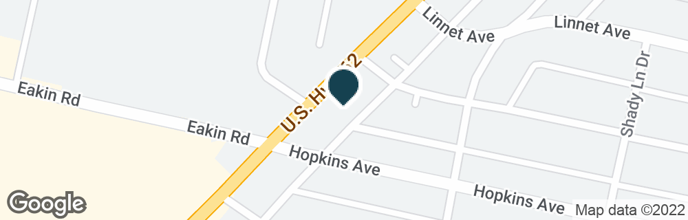 Google Map of1162 HARRISBURG PIKE