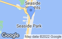 Map of Seaside Park, NJ