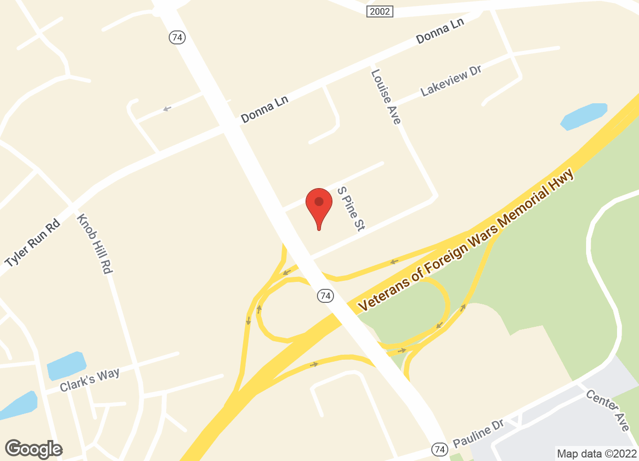 Google Map of VCA Charles E. London Animal Hospital