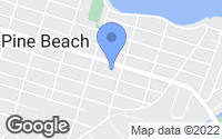Map of Pine Beach, NJ
