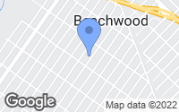 Map of Beachwood, NJ