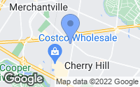 Map of Cherry Hill, NJ