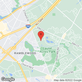 Map of BAYADA Hospice at 503A Birchfield Drive, Mount Laurel, NJ 08054