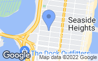 Map of Seaside Heights, NJ