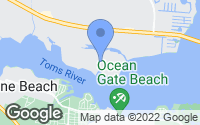 Map of Island Heights, NJ
