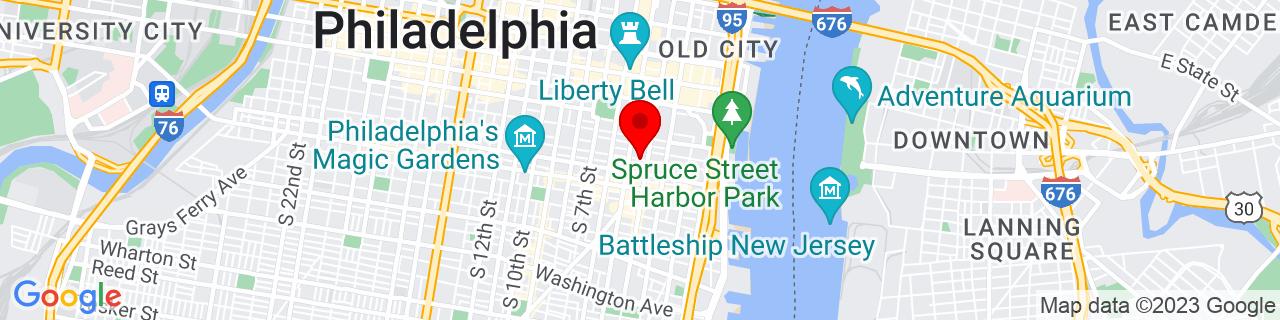 Google Map of 39.9435998, -75.1494381
